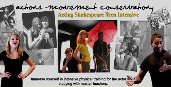 teen chekhov training, chekhov